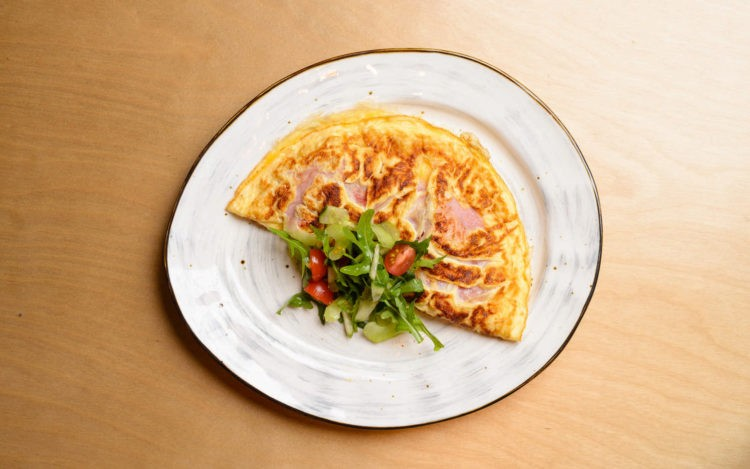 Меню Завтраки